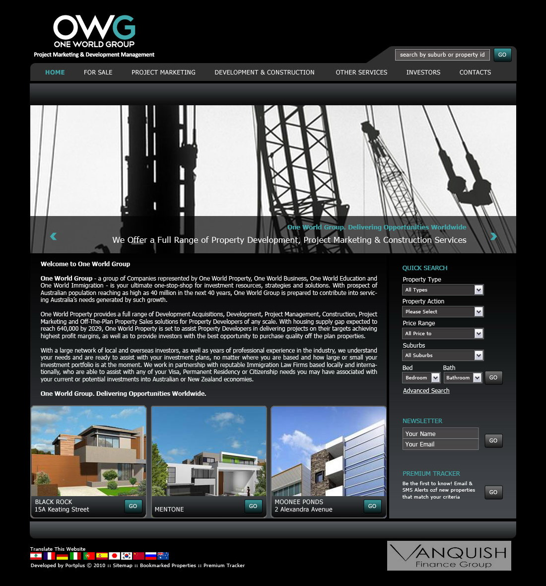 OneWorldGroup-Homepage smaller