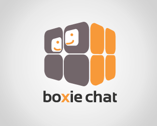 Boxie Chat Logo Design