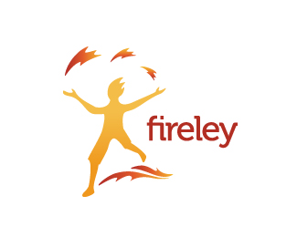 Fireley Logo Design