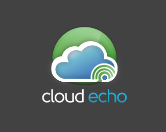 Cloud Echo Logo Design