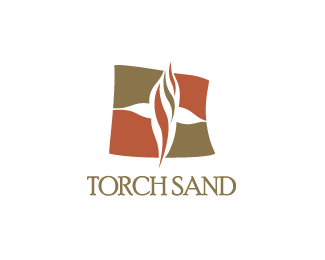 Torch Sand Logo Design