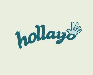 Holla Logo Design