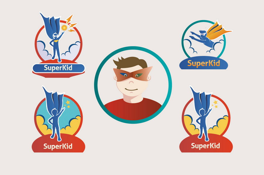 SuperKid Vectors