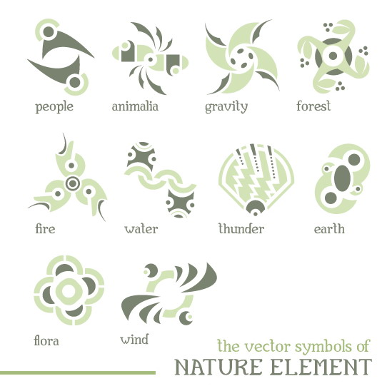 Nature Element Vectors