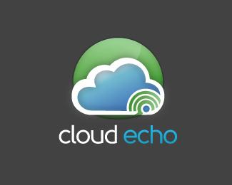 Cloud Echo Logo Design