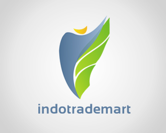 Indotrademart Logo Design