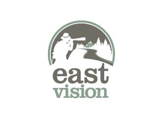 East Vision Logo & Visual Identity