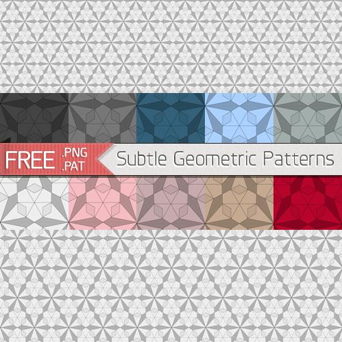 Subtle Geometric Patterns