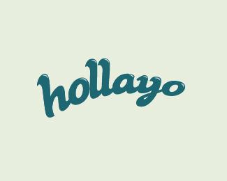 Holla Logo Design
